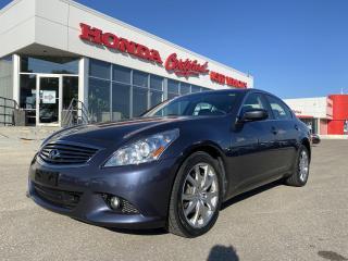 Used 2012 Infiniti G37 Luxury AWD | SUNROOF | for sale in Winnipeg, MB