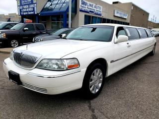 Used 2004 Lincoln Town Car Executive EXECUTIVE STRETCH LIMO BACK UP CAMERA FULL BAR for sale in Concord, ON