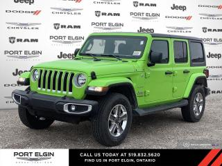 New 2021 Jeep Wrangler Unlimited Sahara for sale in Port Elgin, ON