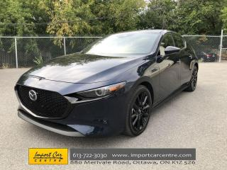 Used 2021 Mazda MAZDA3 GT w/Turbo LEATHER  ROOF  NAVI  BLIS  BOSE SOUND for sale in Ottawa, ON