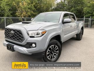 Used 2020 Toyota Tacoma LEATHER  ROOF  NAVI  BLIS  6 FT BED for sale in Ottawa, ON