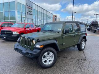 New 2021 Jeep Wrangler UNLIMITED SPORT S COLD WEATHER GROUP REMOTE START for sale in Pickering, ON