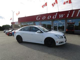 Used 2012 Chevrolet Cruze RS! CLEAN CARFAX! for sale in Aylmer, ON