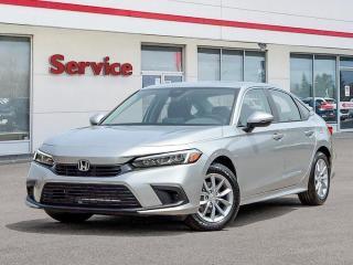 New 2022 Honda Civic EX for sale in Brandon, MB
