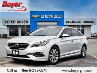 Used 2016 Hyundai Sonata LIMITED Limited for sale in Napanee, ON