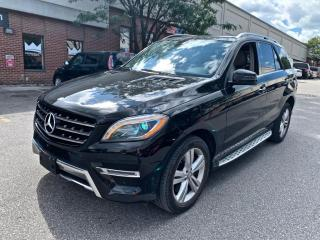 Used 2015 Mercedes-Benz ML-Class 4MATIC 4dr ML400, NAV, PANO ROOF, NO ACCIDENT for sale in North York, ON