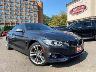 Used 2016 BMW 4 Series 428i xDrive COUPE | RED LEATHER | NAVI | CAM | ROOF| PDC for sale in Scarborough, ON