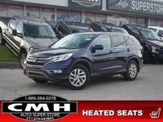 Used 2016 Honda CR-V SE  CAM BLUETOOTH HTD-SEATS REM-START 17-AL for sale in St. Catharines, ON