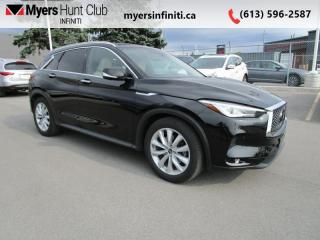 Used 2019 Infiniti QX50 ProACTIVE AWD  - Sunroof -  Leather Seats for sale in Ottawa, ON