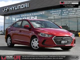 Used 2017 Hyundai Elantra LE  - Bluetooth -  Heated Seats - $99 B/W for sale in Nepean, ON