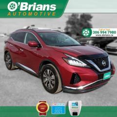 Used 2019 Nissan Murano SV - Accident Free! w/Mfg Warranty, AWD, Command Start, Navi for sale in Saskatoon, SK