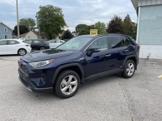 Used 2021 Toyota RAV4 Hybrid Limited for sale in Goderich, ON