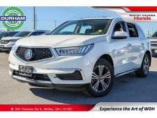 Used 2018 Acura MDX SH-AWD Leather Sunroof Backup Camera for sale in Whitby, ON