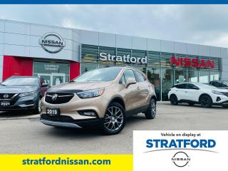Used 2019 Buick Encore Sport Touring for sale in Stratford, ON