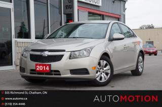 Used 2014 Chevrolet Cruze 1LT for sale in Chatham, ON
