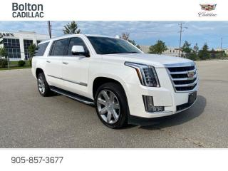 Used 2019 Cadillac Escalade ESV Luxury ESV, Extended Escalade for sale in Bolton, ON