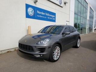 Used 2016 Porsche Macan S AWD | HIGH SPEC! | 2 SETS OF TIRES/RIMS for sale in Edmonton, AB