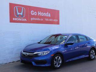 Used 2017 Honda Civic Sedan LX SEDAN ONE OWNER NO ACCIDENTS for sale in Edmonton, AB