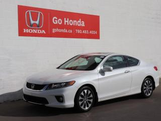 Used 2013 Honda Accord Cpe EX-L W/NAV COUPE LEATHER ROOF for sale in Edmonton, AB