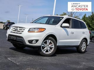 Used 2011 Hyundai Santa Fe LIMITED | LOW MILEAGE | LEATHER for sale in Ancaster, ON