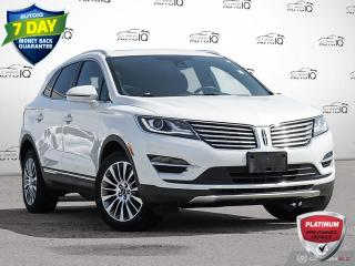 Used 2017 Lincoln MKC Reserve   Awd   Leather   Sunroof   Navigation Low Kms!! for sale in Oakville, ON