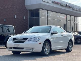 Used 2008 Chrysler Sebring Limited LEATHER/UCONNECT/ 18 INCH CHROME WHEELS for sale in Concord, ON