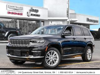 New 2021 Jeep Grand Cherokee All-New L SUMMIT | MCINTOSH AUDIO SYSTEM for sale in Simcoe, ON