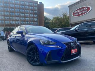 Used 2017 Lexus IS 350 F SPORT   PEPSI BLUE   NAVI   CAM   ROOF  AWD for sale in Scarborough, ON