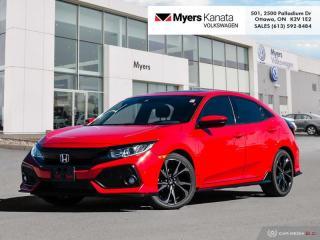 Used 2019 Honda Civic Hatchback Sport 6MT  - Sunroof for sale in Kanata, ON