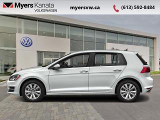 Used 2017 Volkswagen Golf Trendline  - Bluetooth -  Heated Seats for sale in Kanata, ON