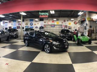 Used 2015 Hyundai Elantra GLS AUT0 P/SUNROOF A/C CRUISE H/SEATS CAMERA for sale in North York, ON