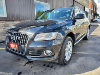 Used 2013 Audi Q5 2.0L-AWD-LEATHER-BLUETOOTH-HEATED SEATS for sale in Tilbury, ON