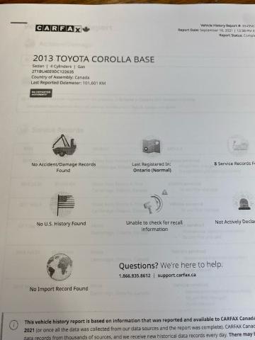 2013 Toyota Corolla CE Plus ** POWER OPTIONS W/ SUNROOF** Photo21