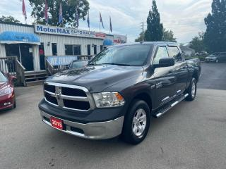 Used 2015 RAM 1500 ST-HEMI-4X4-ACCIDENT FREE for sale in Stoney Creek, ON