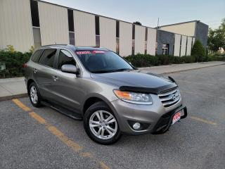 Used 2012 Hyundai Santa Fe LIMITED,ALL WHEEL DRIVE LEATHER,SUNROOF,CERTIFIED for sale in Mississauga, ON