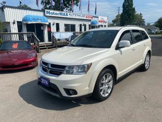 Used 2014 Dodge Journey Limited-V6-Accident Free for sale in Stoney Creek, ON