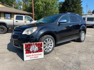 Used 2011 Chevrolet Equinox LT for sale in Glencoe, ON