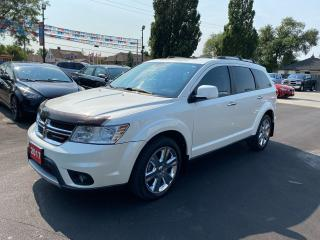 Used 2017 Dodge Journey GT-AWD-7SEATER-DVD-NAVI-ONE OWNER for sale in Stoney Creek, ON