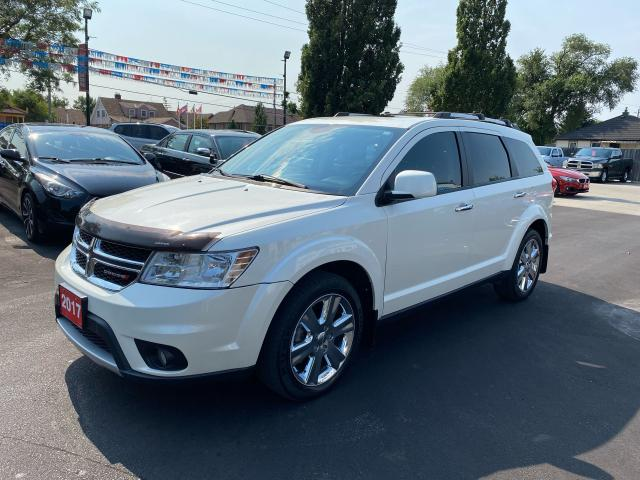 2017 Dodge Journey GT-AWD-7SEATER-DVD-NAVI-ONE OWNER