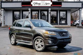 Used 2011 Hyundai Santa Fe LIMITED for sale in Ancaster, ON