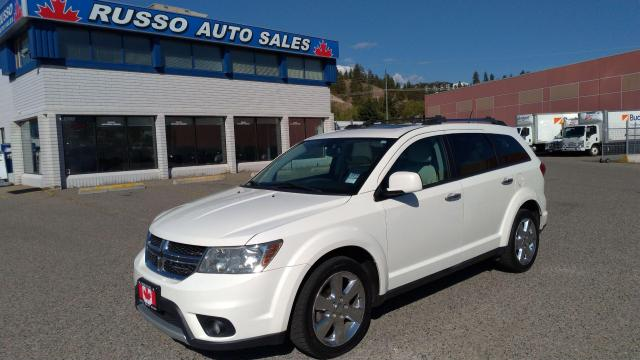 2012 Dodge Journey R/T All Wheel Drive, 7 Seat Leather