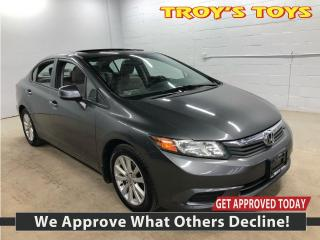 Used 2012 Honda Civic EX-L for sale in Guelph, ON