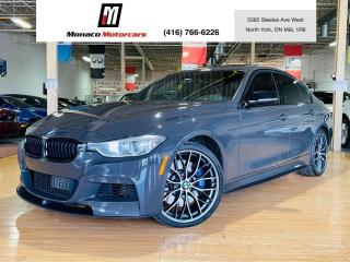 Used 2015 BMW 3 Series 335i xDrive BMW Individual Grauschwarz| M KIT for sale in North York, ON