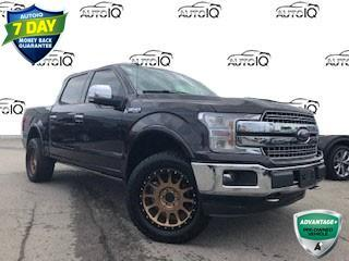 Used 2018 Ford F-150 Lariat 5.0 LTR V8 LARIAT FX4 ! SUNROOF! POWER BOARDS! CERTIFIED for sale in Hamilton, ON