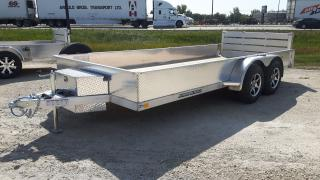 New 2021 Stronghaul Trailer 82 x 16 x 15 Aluminum for sale in Elie, MB