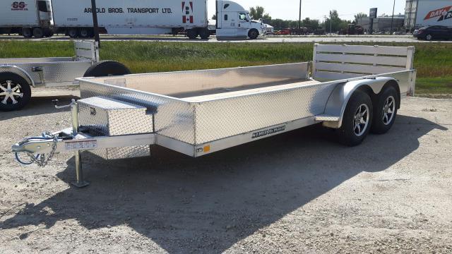 2021 Stronghaul Utility Trailer  82 x 16 x 15 Aluminum