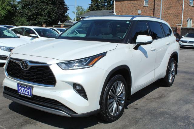 2021 Toyota Highlander Limited Platinum