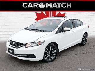 Used 2015 Honda Civic EX / AUTO / SUNROOF / ALLOY'S for sale in Cambridge, ON