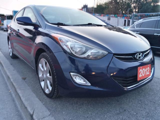 2012 Hyundai Elantra Limited w/Navi-ECO-BLUETOOTH-AUX-USB-ALLOYS