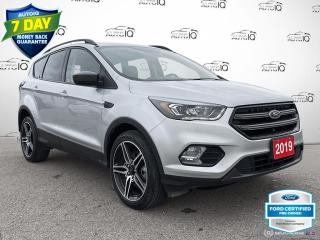Used 2019 Ford Escape SEL AWD Leather/Heated Seats/Bluetooth for sale in St Thomas, ON